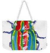 Rainbow Bug Weekender Tote Bag