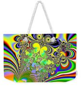 Rainbow Butterfly Bouquet Fractal Abstract Weekender Tote Bag