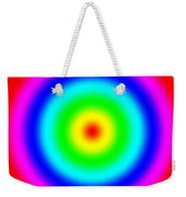 Rainbow Circles Weekender Tote Bag