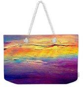 Rainbow Clouds Full Spectrum Weekender Tote Bag