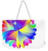 Rainbow Cluster Weekender Tote Bag