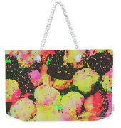 Rainbow Color Cupcakes Weekender Tote Bag
