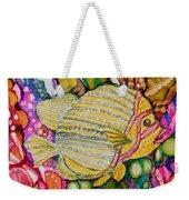 Rainbow-colored Sunfish Weekender Tote Bag