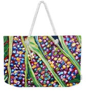 Rainbow Corn Weekender Tote Bag