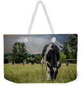 Rainbow Cow Weekender Tote Bag