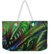 Rainbow Crystals Weekender Tote Bag
