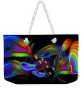 Rainbow Deep Weekender Tote Bag