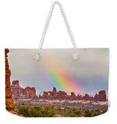 Rainbow Down Weekender Tote Bag