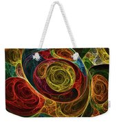 Rainbow Egg Formation Abstract Weekender Tote Bag