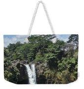 Rainbow Falls Hawaii Weekender Tote Bag