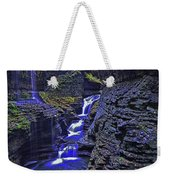 Rainbow Falls Watkins Glen State Park Weekender Tote Bag