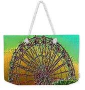 Rainbow Ferris Wheel Weekender Tote Bag