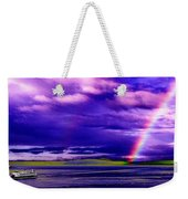 Rainbow Ferry Weekender Tote Bag