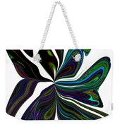 Rainbow Firefly Abstract Weekender Tote Bag