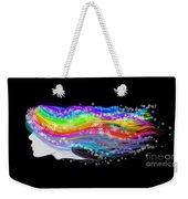 Rainbow Flower Girl Weekender Tote Bag