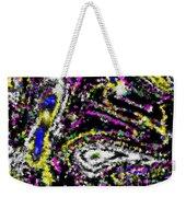 Rainbow Flurry Art Weekender Tote Bag