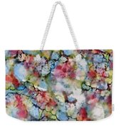 Rainbow Granite Weekender Tote Bag