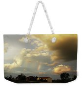 Rainbow House Weekender Tote Bag