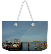 Rainbow In Apalachicola Fl Weekender Tote Bag