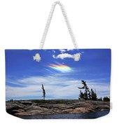 Rainbow In The Clouds Weekender Tote Bag