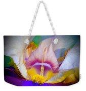 Rainbow In The Iris Weekender Tote Bag