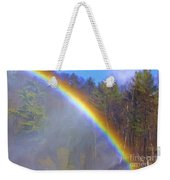 Rainbow In The Mist Weekender Tote Bag
