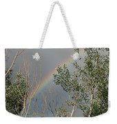 Rainbow In The Trees Weekender Tote Bag