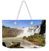 Rainbow In The Water Weekender Tote Bag
