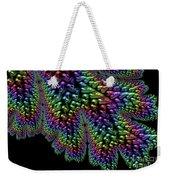 Rainbow Leaf Weekender Tote Bag