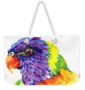 Rainbow Lorikeet Weekender Tote Bag
