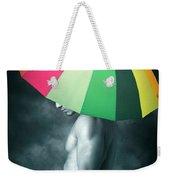 Rainbow Mike  Weekender Tote Bag
