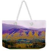 Rainbow Mountain Weekender Tote Bag by DigiArt Diaries by Vicky B Fuller