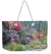 Rainbow Of The Season With River Weekender Tote Bag