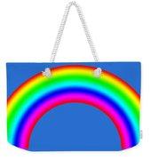 Rainbow On Sky Weekender Tote Bag