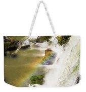 Rainbow On The Falls Weekender Tote Bag