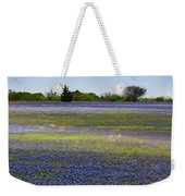 Rainbow On The Ground Weekender Tote Bag