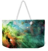 Rainbow Orion Nebula Weekender Tote Bag by Jennifer Rondinelli Reilly - Fine Art Photography