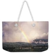 Rainbow Over Gunks Weekender Tote Bag