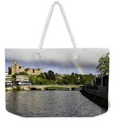 Rainbow Over Inverness Weekender Tote Bag