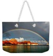 Rainbow Over Lake Powell Weekender Tote Bag