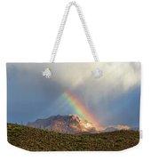 Rainbow Over Picketpost Weekender Tote Bag