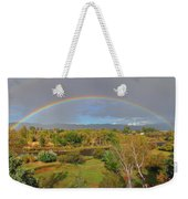 Rainbow Over The Araknsas Weekender Tote Bag
