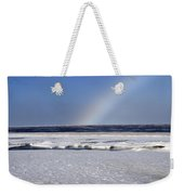 Rainbow Over The Arctic Weekender Tote Bag