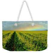 Rainbow Over The Cornfields Weekender Tote Bag