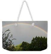 Rainbow Over The Trees Weekender Tote Bag