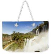 Rainbow Over The Waterfall Weekender Tote Bag
