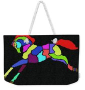 Rainbow Pony Weekender Tote Bag