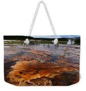 Rainbow Pool - Yellowstone Np Weekender Tote Bag