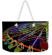 Rainbow Ride Weekender Tote Bag