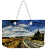 Rainbow Road - Id 16217-152106-4712 Weekender Tote Bag